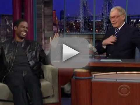 Chris Rock on Letterman