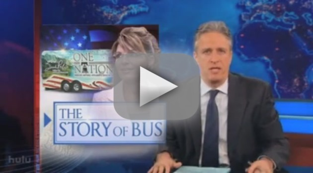 Jon Stewart on Palin Emails