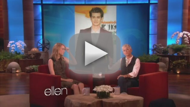 Emma Stone on Ellen
