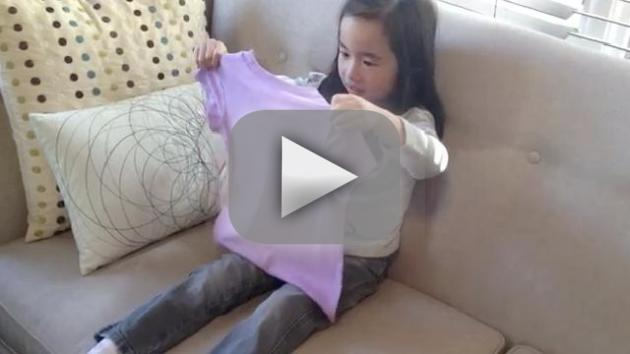 Little Girl Learns Baby News