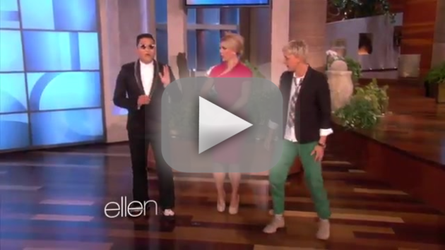 Britney Spears, Psy on Ellen