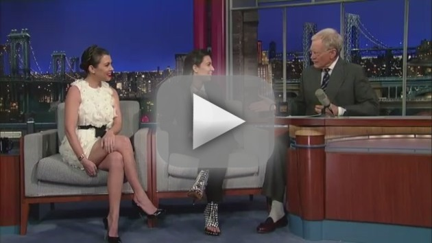 Kim Kardashian on The Late Show - Kris Humphries Update