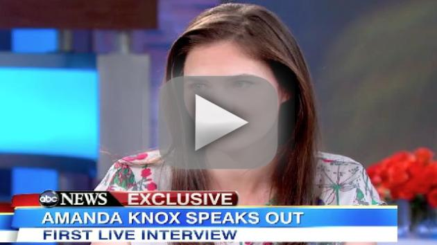 Amanda Knox on Good Morning America