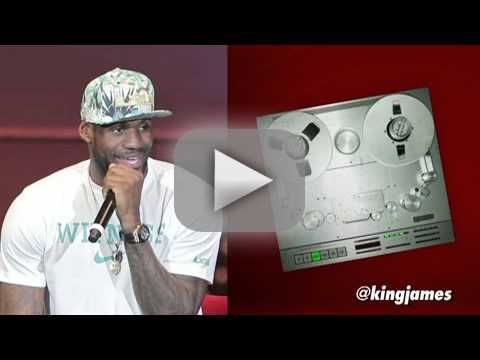 LeBron James Raps