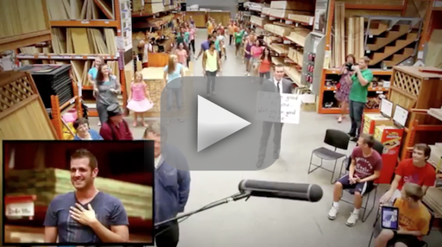 Home Depot Flash Mob Proposal