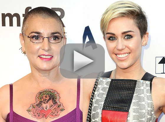 Sinead O'Connor vs. Miley Cyrus