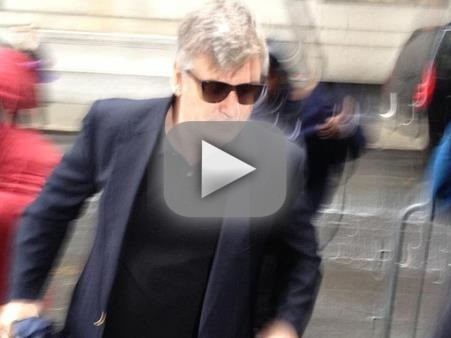 Alec Baldwin Arrives in Court