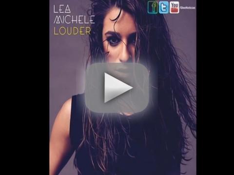 """Lea Michele - """"Louder"""""""