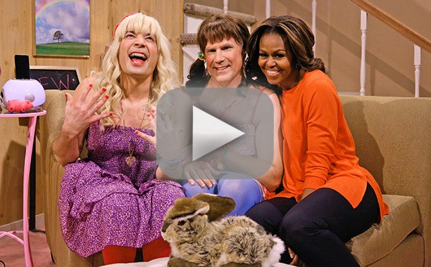 Michelle Obama on The Tonight Show with Jimmy Fallon