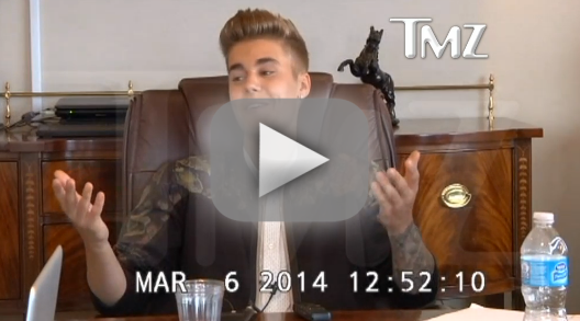 Justin Bieber Deposition Footage, Part 1