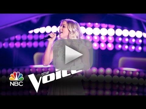Lindsay Bruce - Even If It Breaks Your Heart (The Voice Audition)