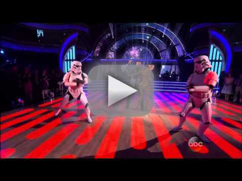 Billy Dee Williams & Emma Slater - DWTS Week 1