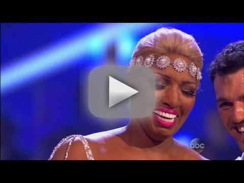 NeNe Leakes & Tony Dovolani - DWTS Week 1