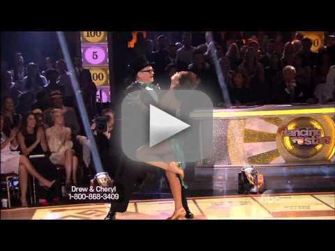 Drew Carey & Cheryl Burke - DWTS Week 1