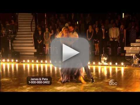 James Maslow & Peta Murgatroyd - DWTS Week 1