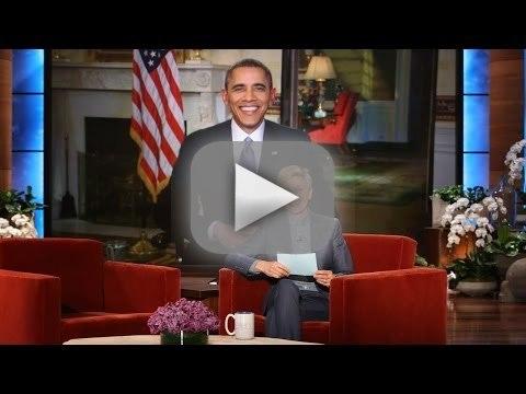President Obama on Ellen, Part 3