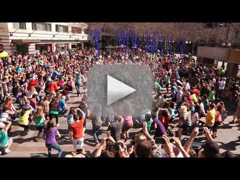 Glee Flash Mob Proposal
