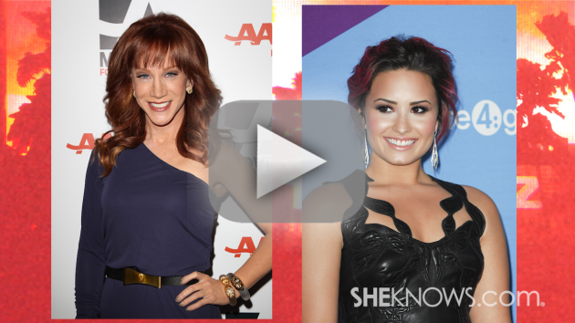 Kathy Griffin vs. Demi Lovato