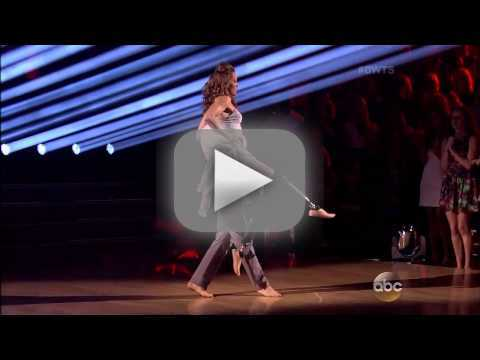 Amy Purdy & Derek Hough - Contemporary - Week 3