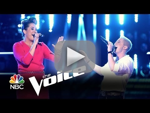 Emily B. vs. Kristen Merlin: 'I Can Love You Better' (The Voice Battle Round)