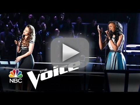 Ddendyl vs. Deja Hall: 'Say Something' (The Voice Battle Round)