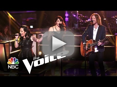 Kat Perkins vs. Dawn and Hawkes: Suddenly I See (The Voice)