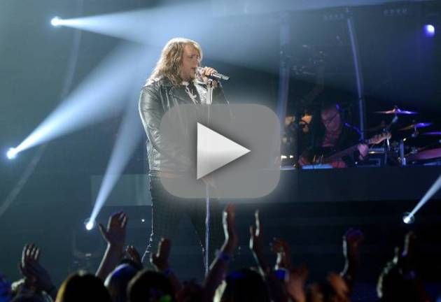 "Caleb Johnson - ""Faithfully"""