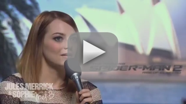 Emma Stone Cries Over Melanie Brown