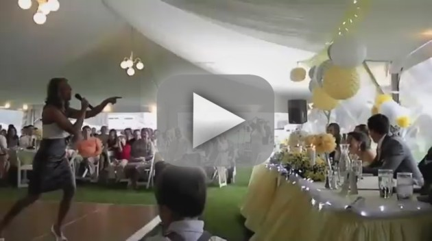 Ice Ice Baby Wedding Speech