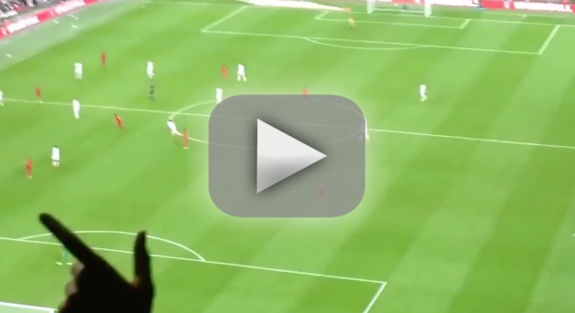 Paper Plane Strikes Soccer Player