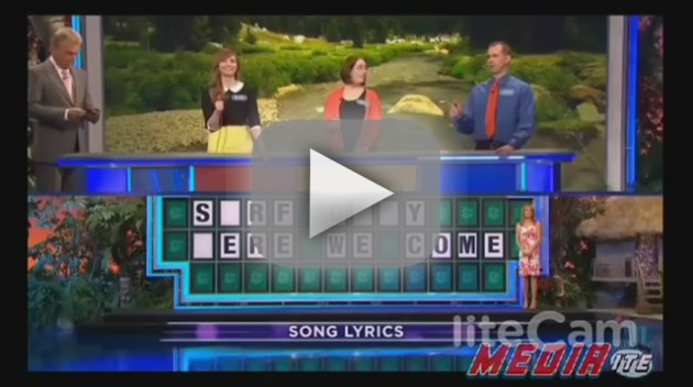 Failed Wheel of Fortune Guess