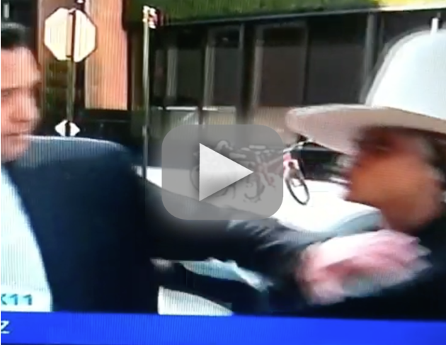 Erykah Badu Tries to Kiss Reporter