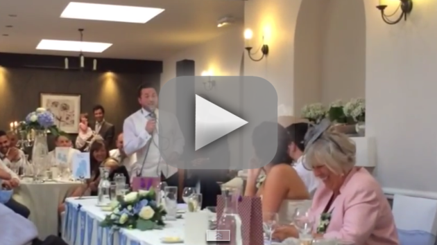 Best Man Sings Covers Frozen for Epic Wedding Toast