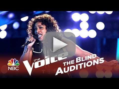 Maiya Sykes - Stay With Me (The Voice Audition)