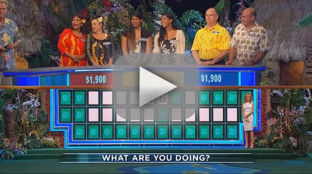 Pat Sajak Walks Off Wheel of Fortune Set