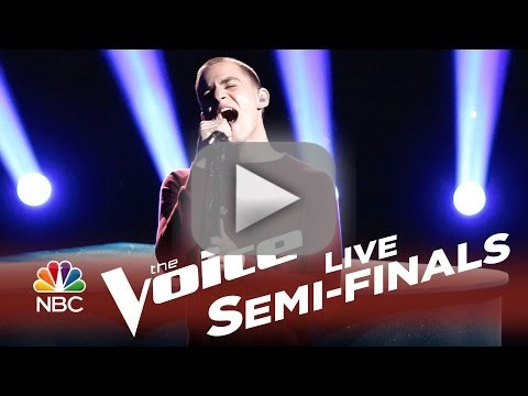 Chris Jamison - When I Was Your Man (The Voice Semifinals)