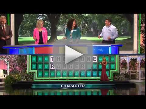 Wheel of Fortune Contestant Solves Puzzle With One Letter