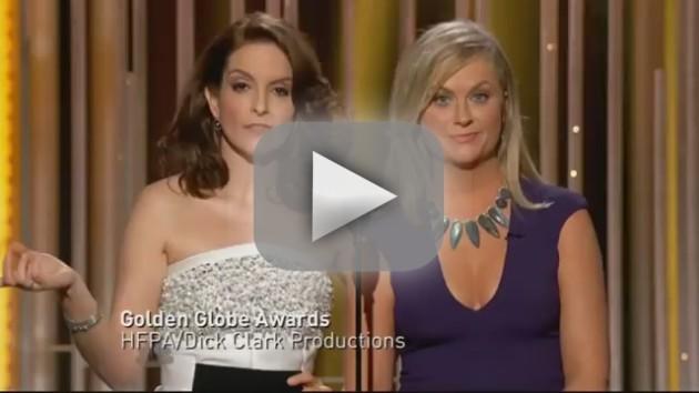 Tina Fey Amy Poehler Golden Globes Cosby Joke