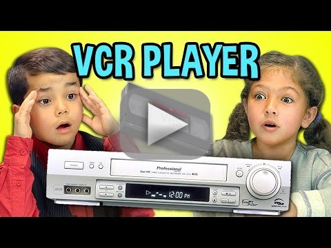 Kids React (Hilariously) to VCR