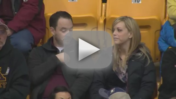 6 Awkward Moments in Kiss Cam History