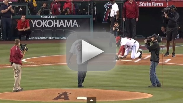 Ceremonial First Pitches: Fails & Feats