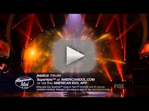 Jessica Meuse American Idol Performances