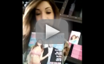 Farrah Abraham Keeks Out