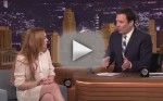 Lindsay Lohan on The Tonight Show with Jimmy Fallon