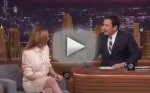A clip of Lindsay Lohan on Tonight Show with Jimmy Fallon