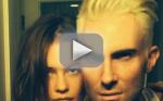 Adam Levine with Blonde Hair