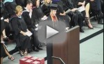 Roy Costner Recites Lord's Prayer at High School Graduation