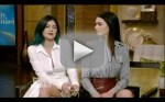 Kendall and Kylie Jenner on Live With Kelly and Michael