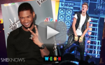 Usher Stands Up for Justin Bieber