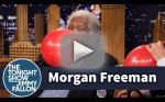 Morgan Freeman Inhales Helum